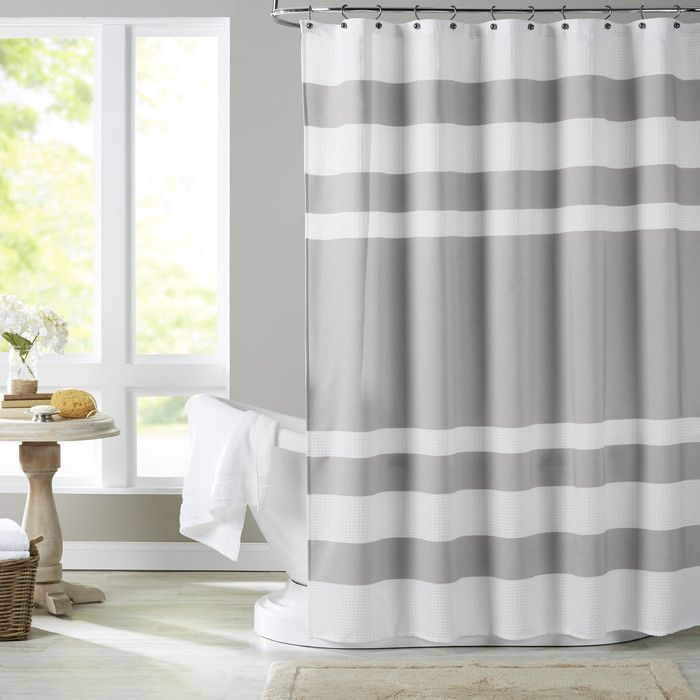 Chambray Co Malory Shower Curtain Allmodern Curtains