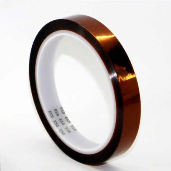 Anti-Static ESD Polyimide Tape for PCB Manufacturing Safety Protection