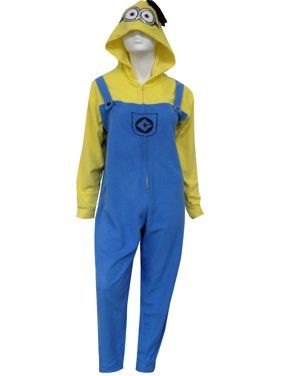 Despicable Me Minion Hooded One Piece Pajama  156f25fb0