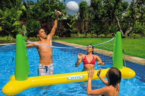 Inflatable Pool Volleyball 131454 With Images Swimming Pool Accessories Swimming Pool Games Swimming Pool Toys