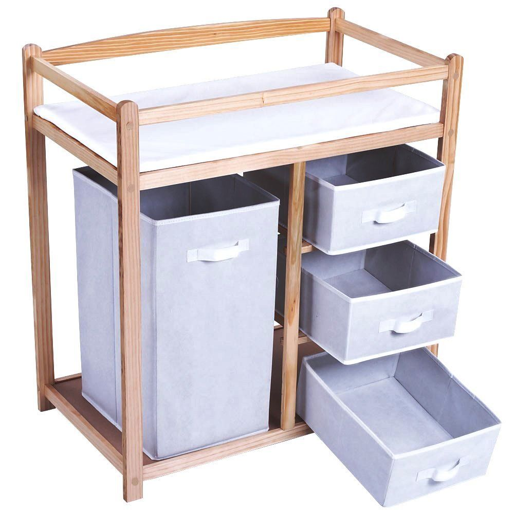 Baby Changing Unit Storage Home Organization Kids Bed Room Drawers