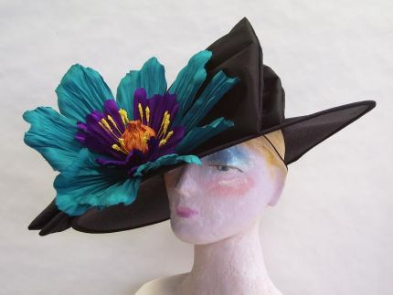 This is a John Koch creation. He started making hats in 1971.