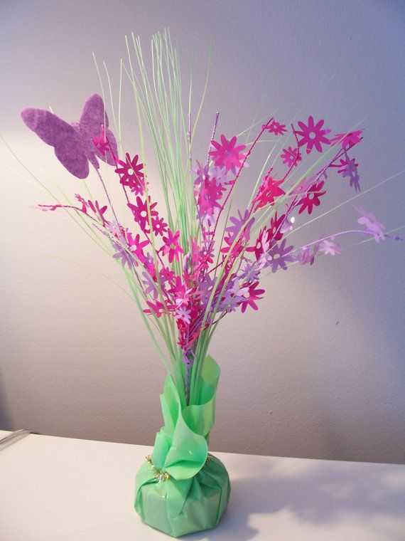 Colourful Butterfly Table Center Piece Decoration/balloon Weight    Spring/Easter Decorations   Party