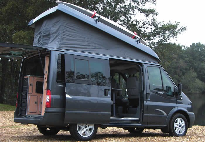 ford transit van camping travel trailers and rvs ford. Black Bedroom Furniture Sets. Home Design Ideas