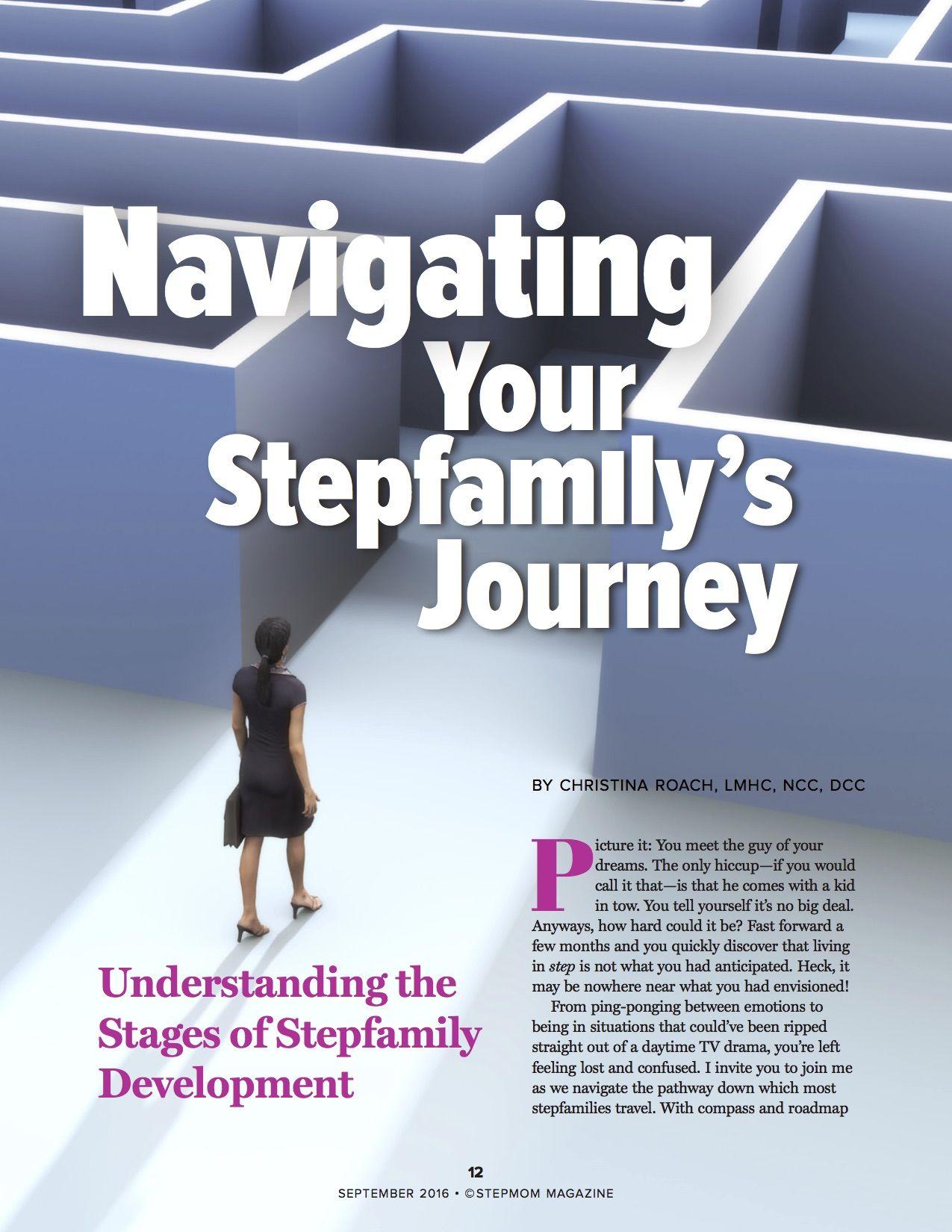 Stepfamily Development  In The September 2016 Issue
