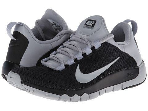 4d05c60fb0c2 Nike Free Trainer 5.0 Black Wolf Grey - Zappos.com Free Shipping BOTH Ways