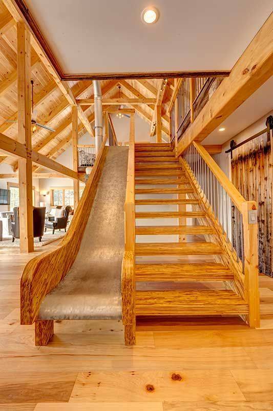 Custom homes photo gallery davis frame post and beam for Post and beam shop plans