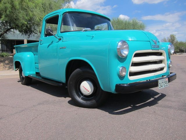 An original 55 dodge pickup- the c-3 rare find, glad to have a one