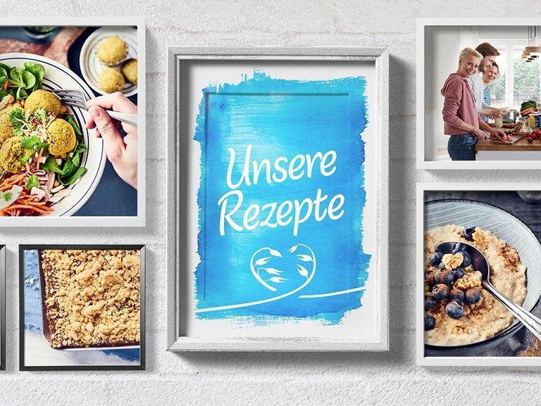 Rezepte Mit Haferflocken Und Vielem Mehr Kolln In 2020 Rezepte Haferflocken Rezepte Herzhafte Snacks