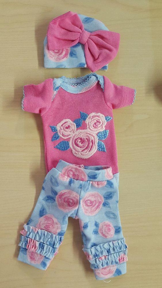 Handmade Ooak Reborn Baby Doll Ashton Drake Micro Preemie Clothes 10 Berenguer Ebay Preemie Clothes Girl Baby Boy Doll Clothes Cute Baby Clothes