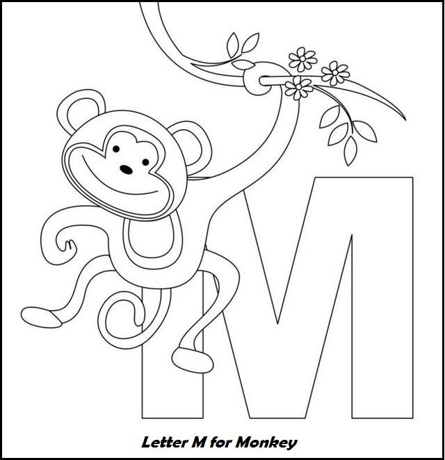 Coloring Letters Online Display