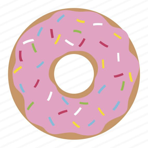 donut svg donut dxf donut eps donut stencil donut clip art rh pinterest com donut clip art free doughnut clipart