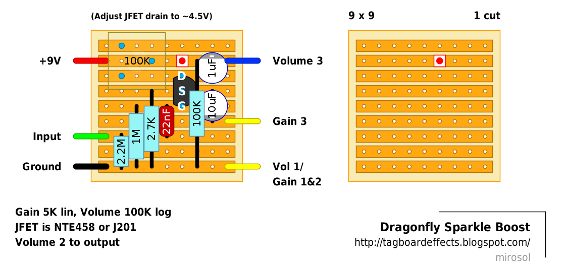 Dragonfly Sparkle Boost Guitar Pedals Pinterest – Diy Clean Boost Pedal Wiring-diagram