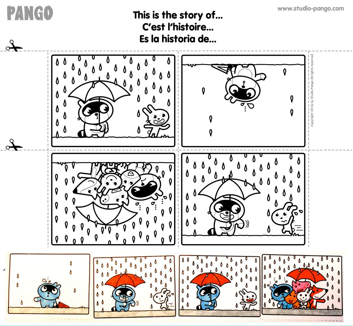 This Is The Story Of Sequential Pictures Cutting