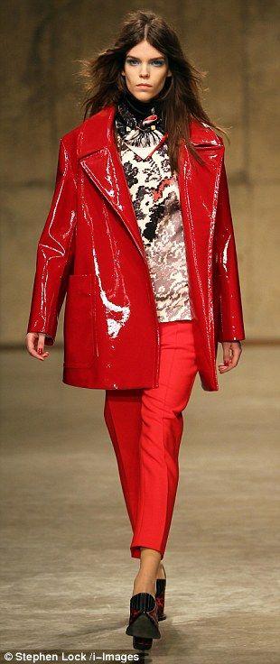 Red pants | PVC | Pinterest | Red pants