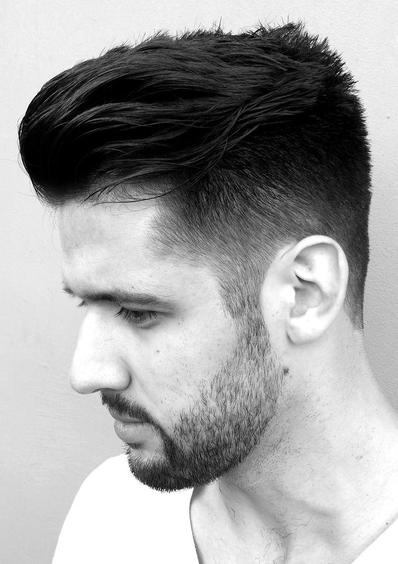 30 Pompadour Haircuts For Men Hair Pinterest Hair Cuts