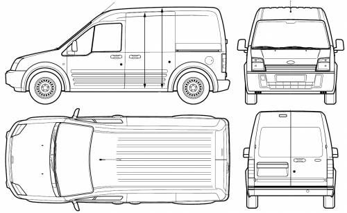 Ford Transit Connect Dimensions 3 Ford Transit Ford Van Car Ford