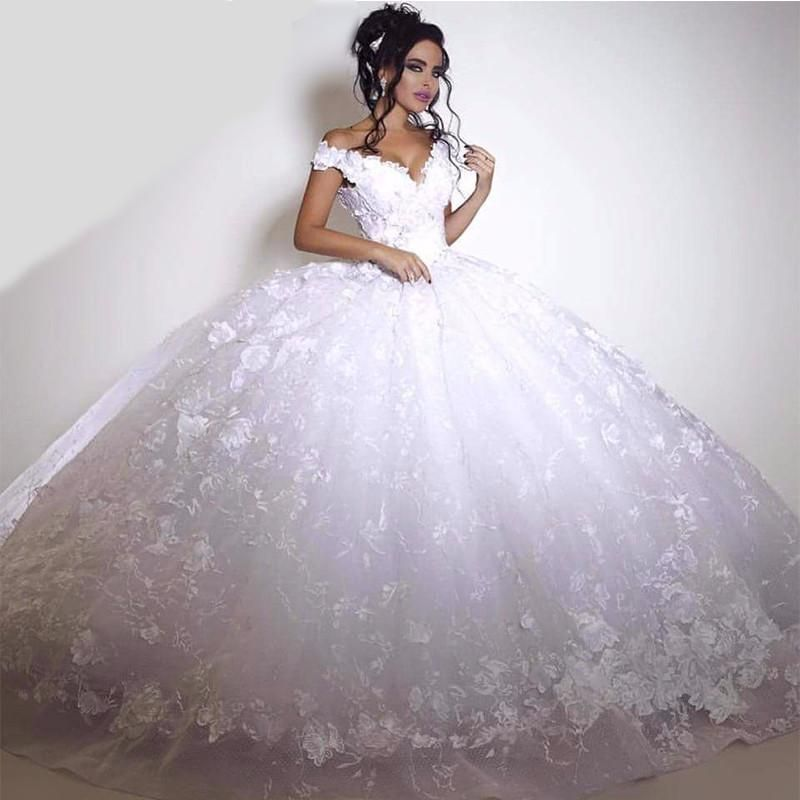 Photo of Wedding ball gown tulle puffy vintage