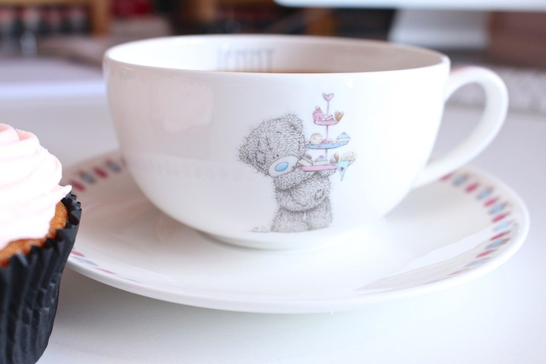 ME TO YOU CUPCAKE TEACUP & SAUCER – Krystel Couture