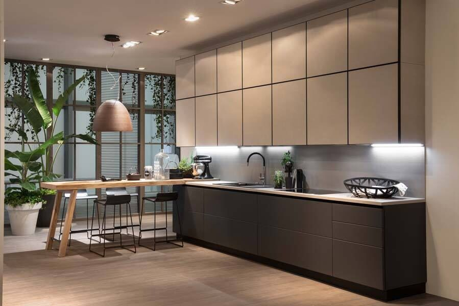 Scavolini Scenery with Kerlite Doors | Kitchens | Kitchen decor ...