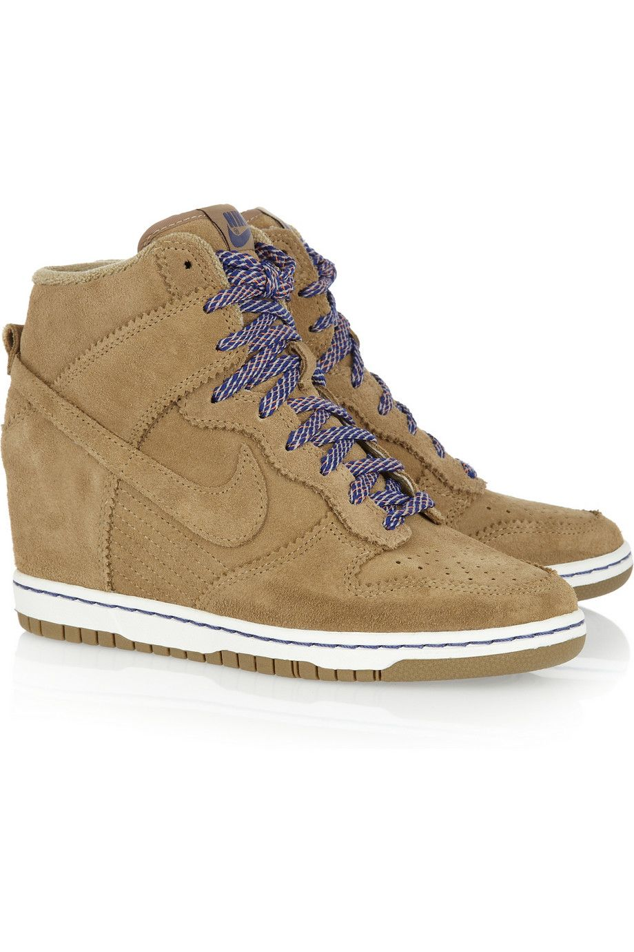 new product d3c8f 610b7 cheap nike womens sky hi dunk leopard 079c2 22d33  new zealand nike wedges.  def. getting these for spring pick them up at lady