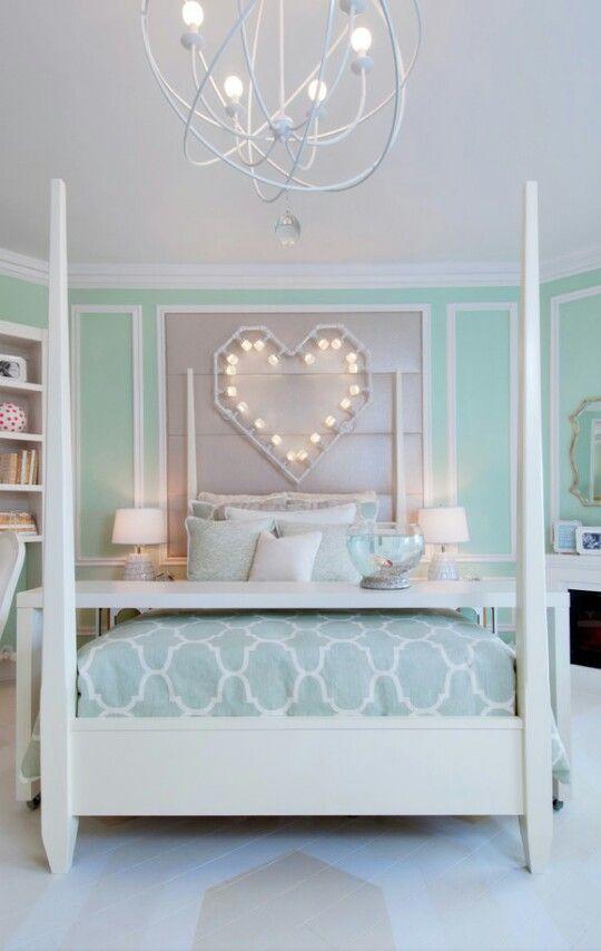 Pin By Terri Faucett On Tween Teenagers Rooms Mint Green Bedroom Turquoise Room Tween Girl Bedroom