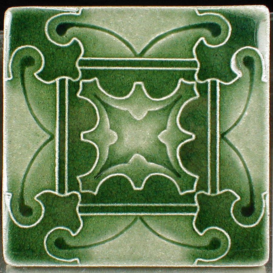 Decorative Ceramic Tiles Kitchen Butterfly Tile 6 X 6 Green Glaze Tile Gift Tile Kitchen Tile