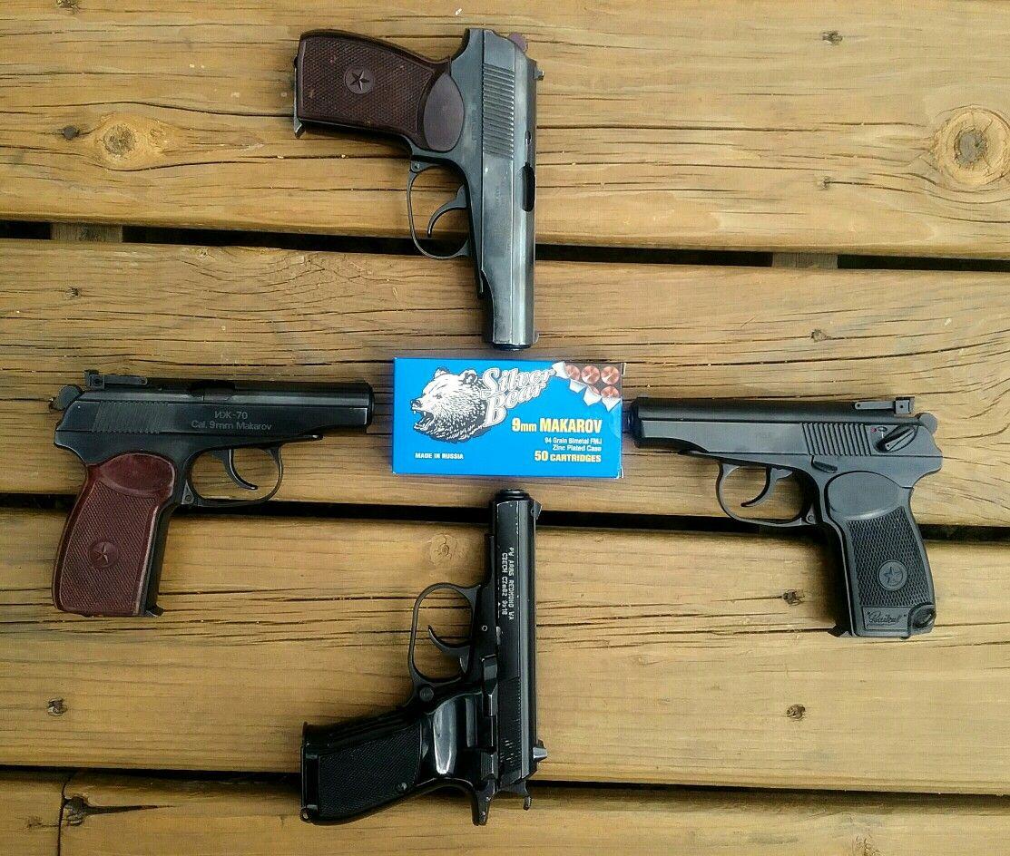 Bulgarian 9 x 18mm 380 Russian 2 x Makarov Pistol Magazine 8 Rd