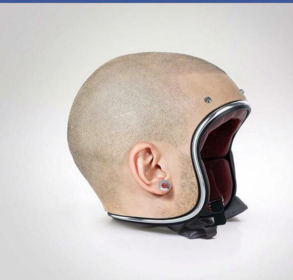 This is a real helmet! AI!