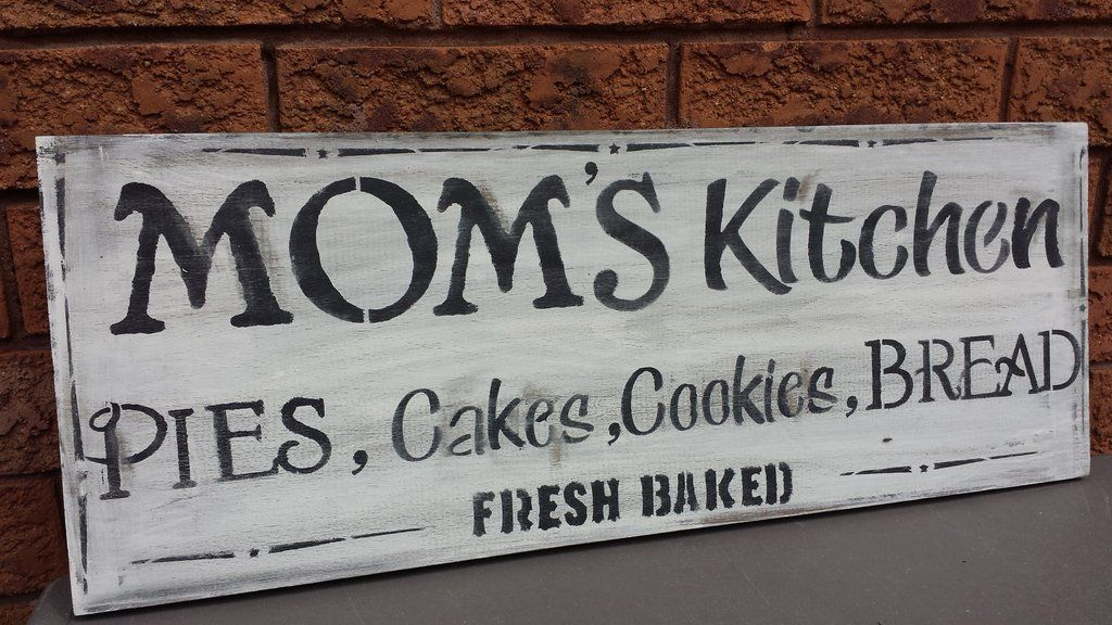 Mom S Kitchen Sign Kitchen Signs Signs For Mom Signs