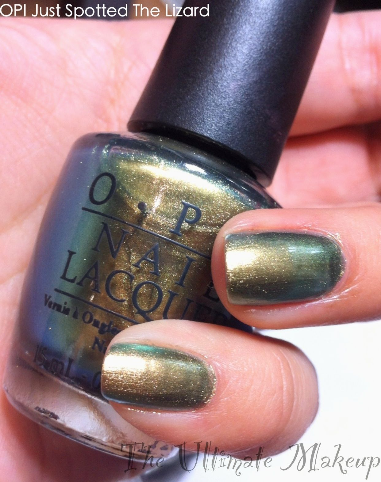 OPI Just Spotted The Lizard Nail Swatch   .I Like.   Pinterest   OPI ...