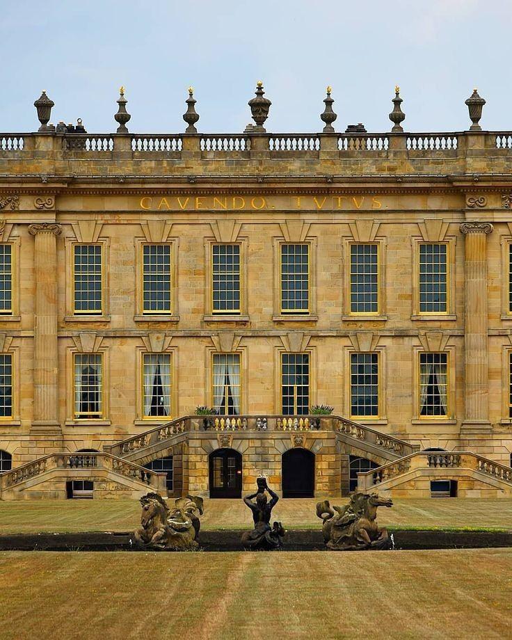 "Chatsworth House History: @royalsandfashion: ""#LookInside Chatsworth House . Nestled"