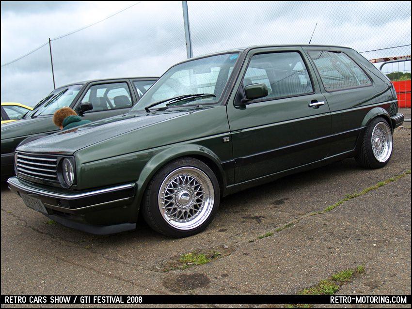 Oak Green Vw Golf Mk2 Volkswagen Golf Mk2 Volkswagen Golf Mk1 Golf Mk2