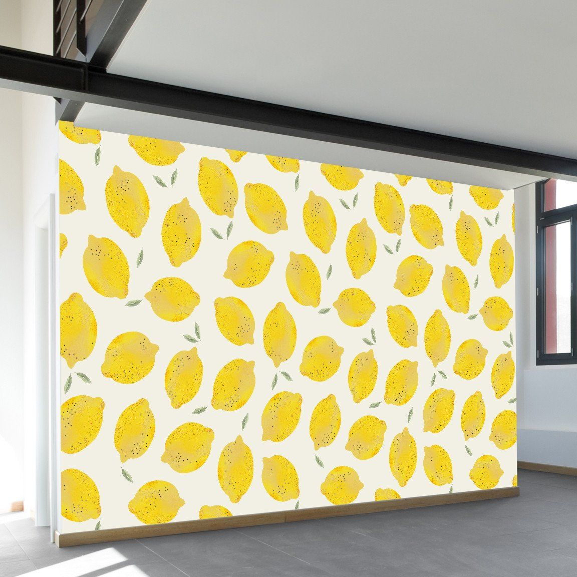 Lemon Wall Mural | Wall murals, Walls and Modern art