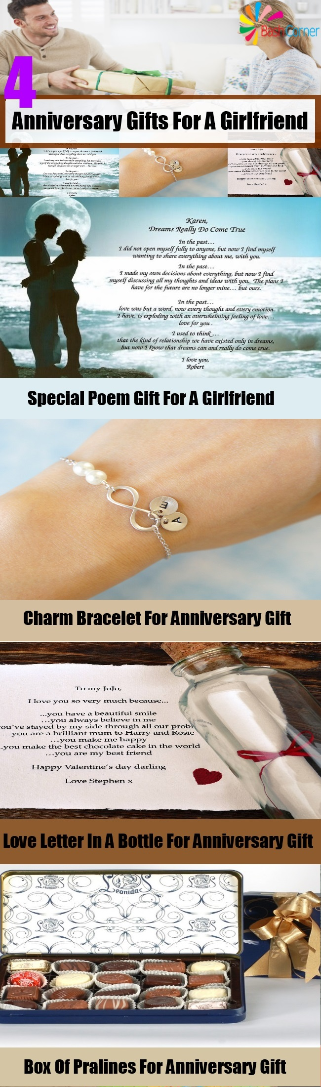 anniversary gifts for a girlfriend gift ideas pinterest