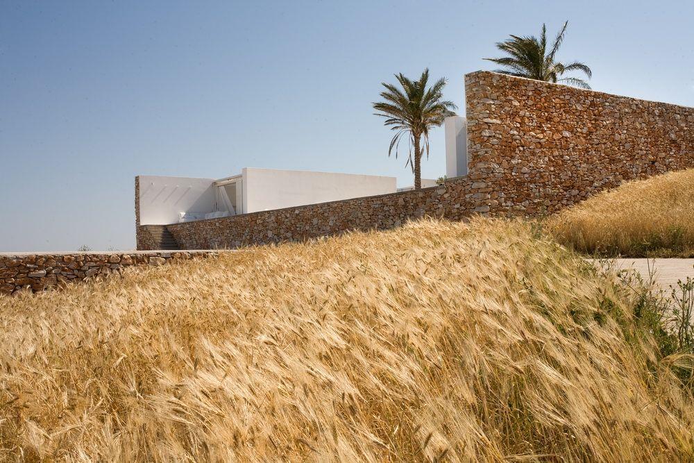 Villa galfetti paros greece the modern house estate agents - Villa Galfetti Paros Greece Arch Pinterest