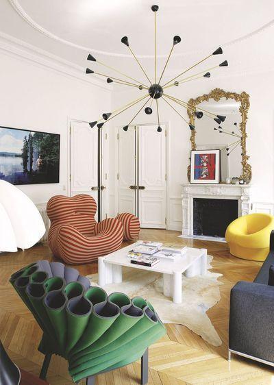 Art Meets Interior Design | Postmodern Living Room