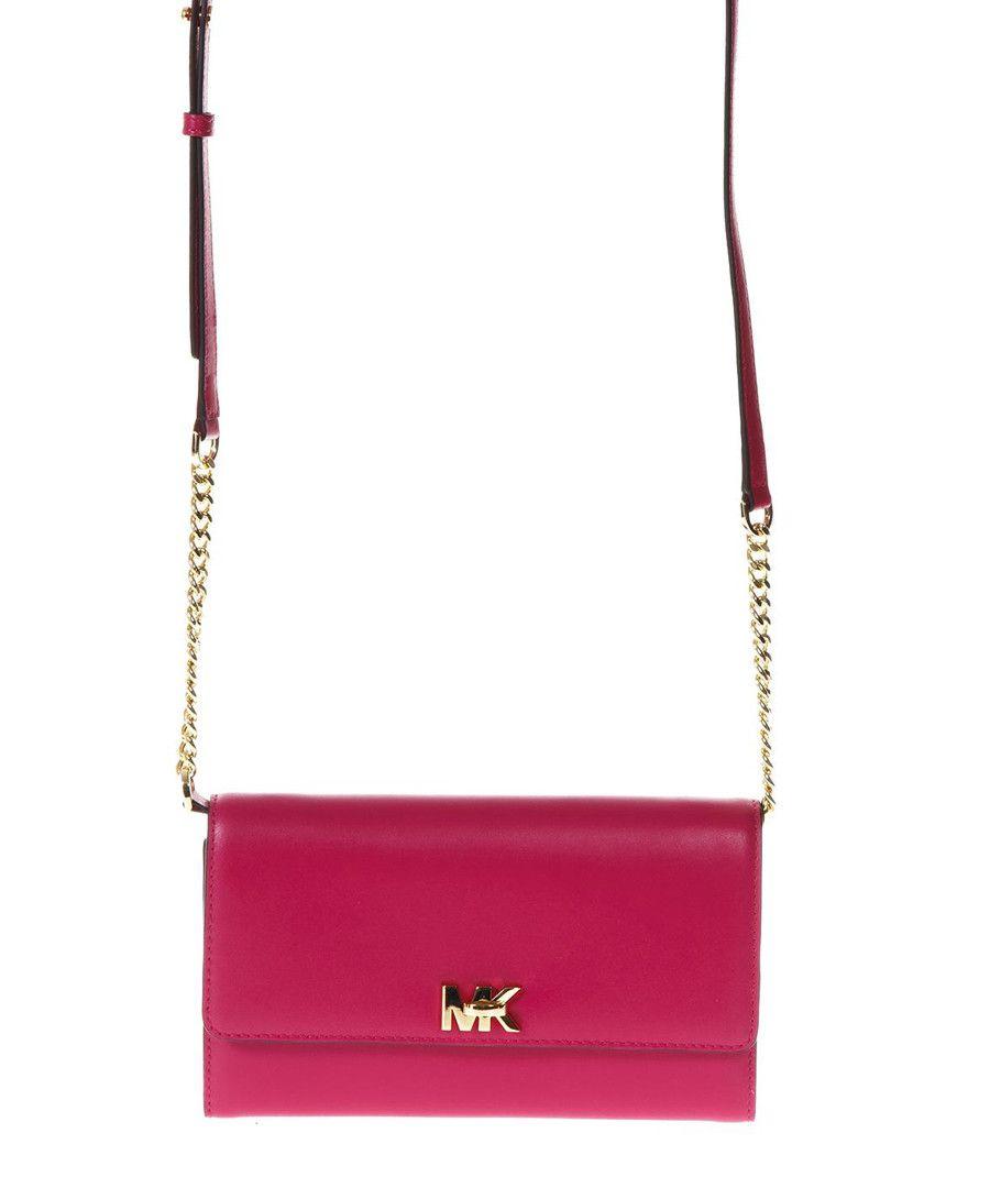 ... Fuchsia leather flap cross body bag Sale - MICHAEL KORS best service  cfcd1 6d506 ... 44e52cc0ddc9c