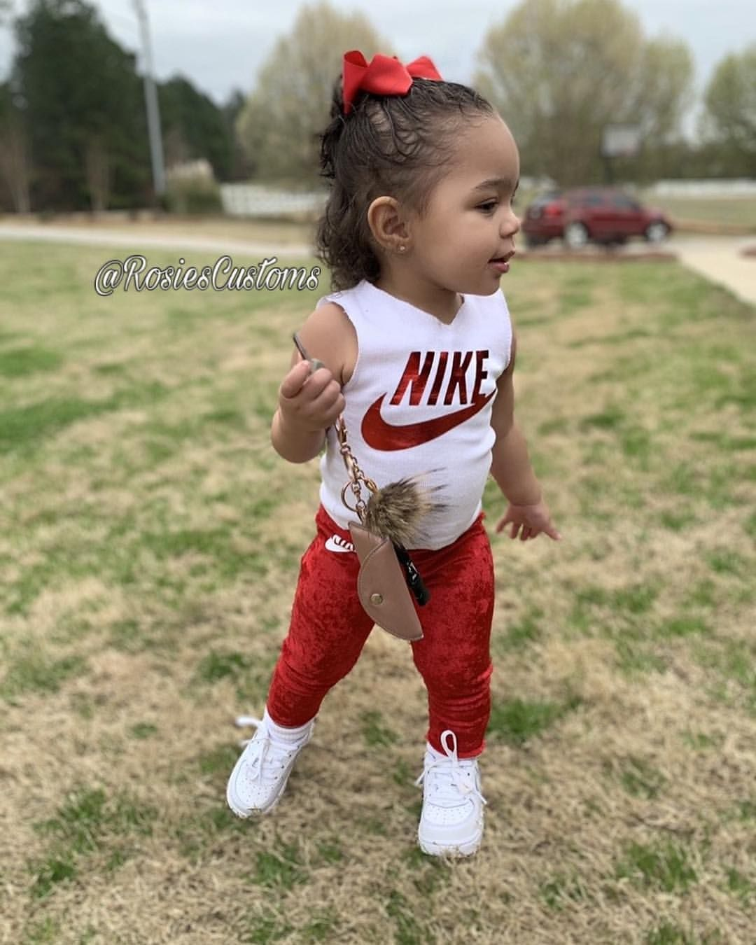 Nike Inspired Baby/ Toddler Outfit Set