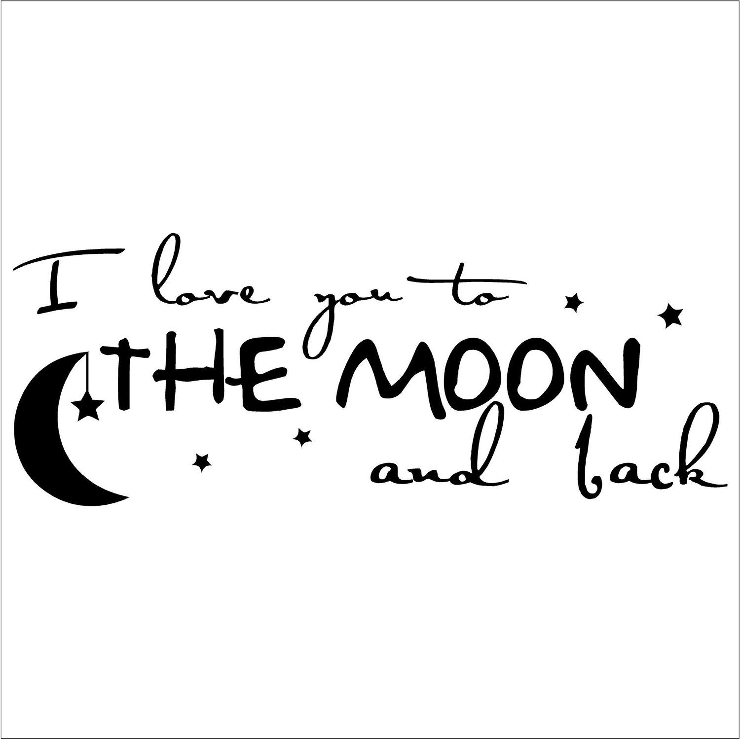 "Quote I Love You To The Moon And Back I Love You To The Moon And Back  Google Search  "" I Love You To"