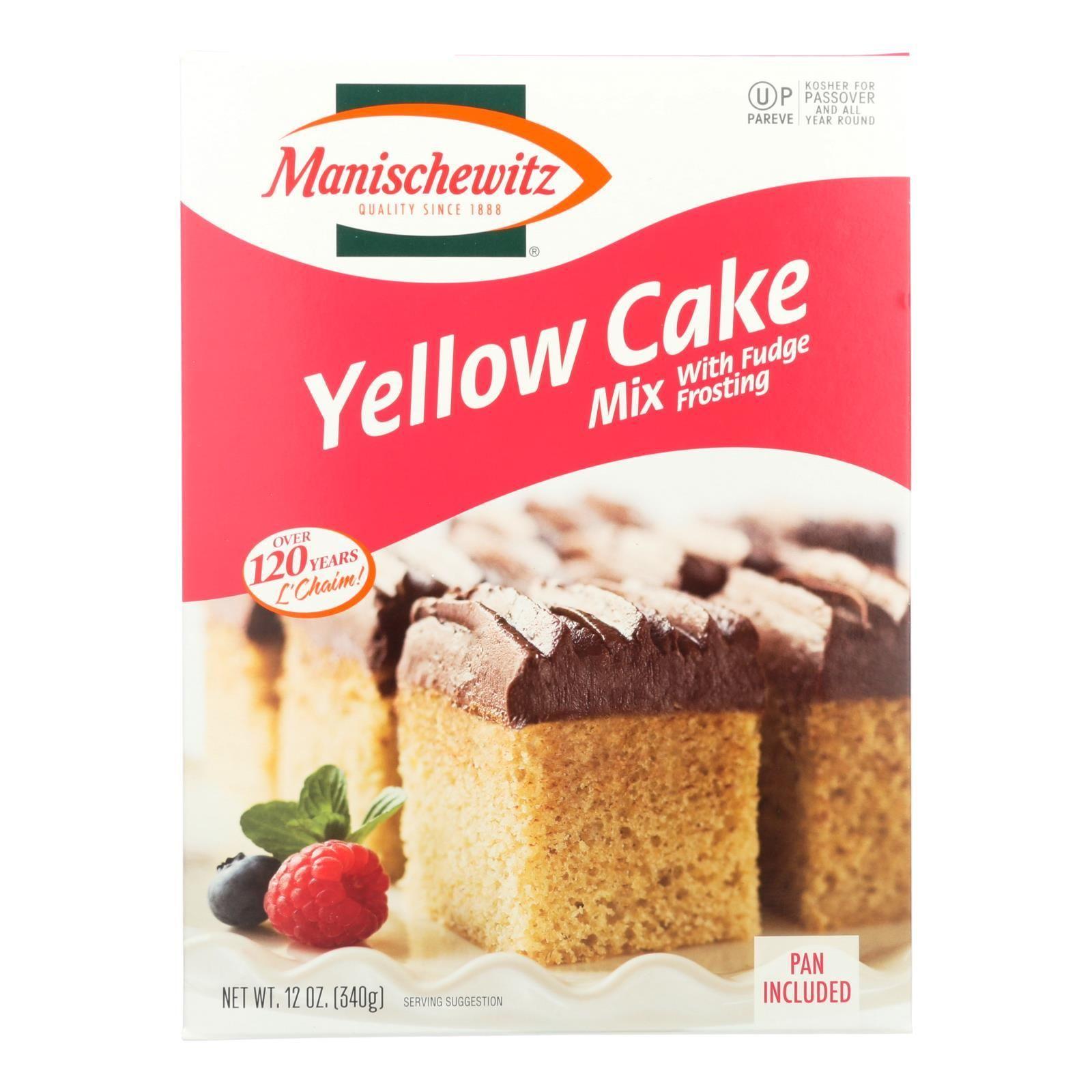 Manischewitz mix cake yellow kosher for passover case