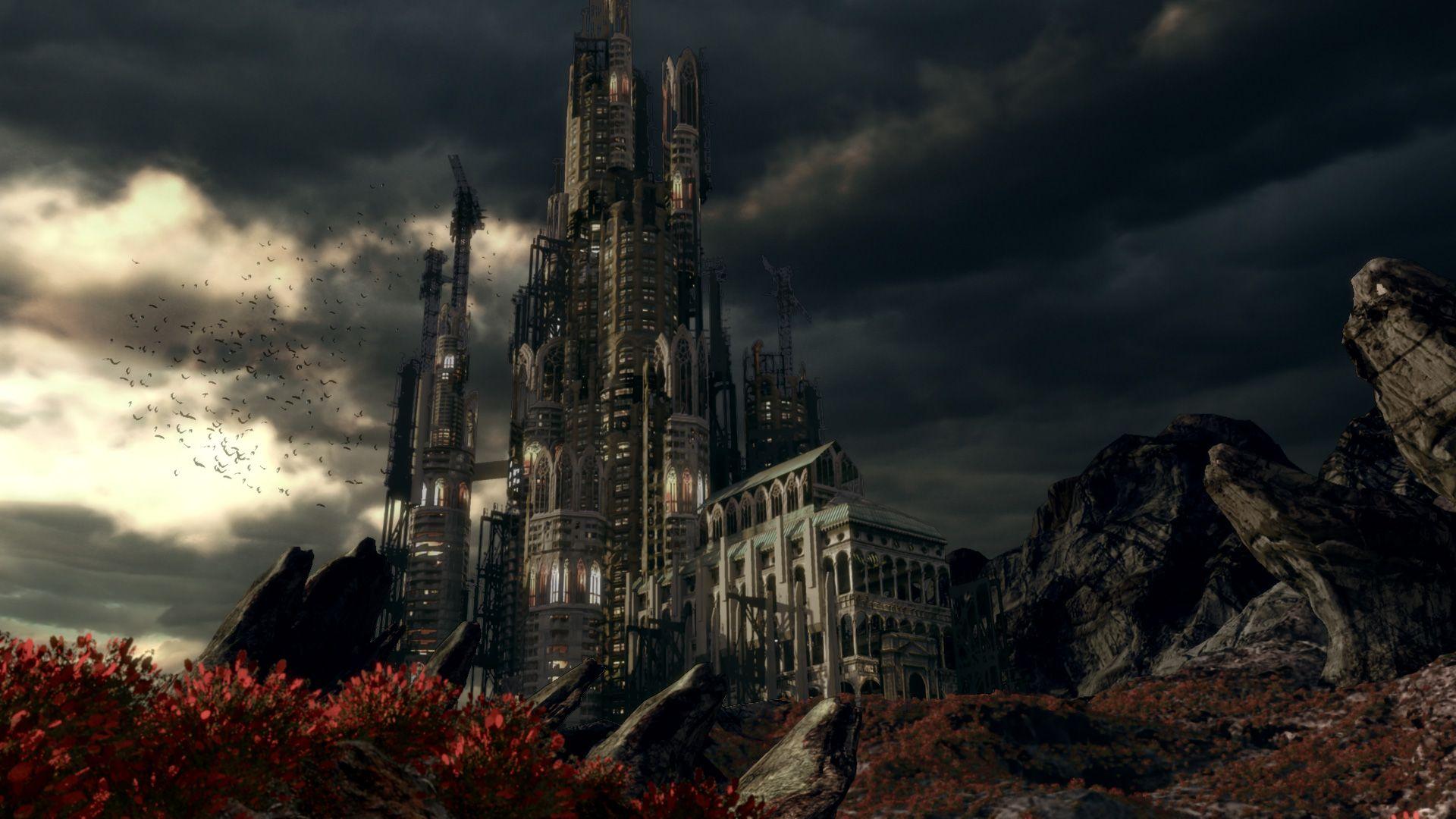The castle rolepages random pinterest fantasy for Final fantasy 8 architecture