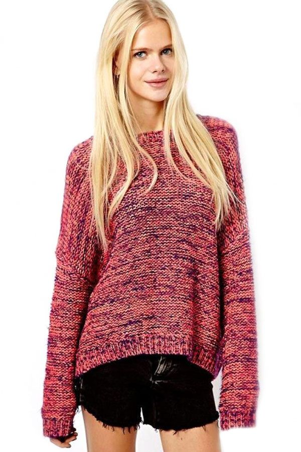 All For Love Fuzzy Knit Sweater (Taupe) | Sweater fashion