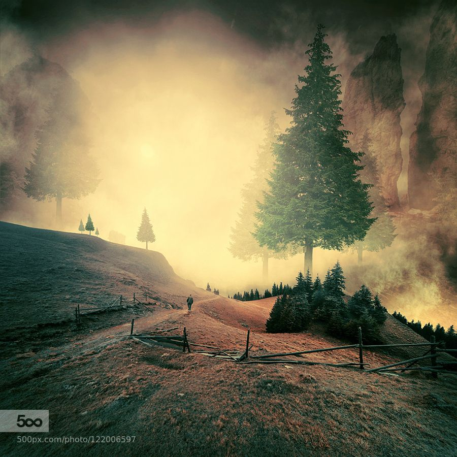 Inexistent giant by carasionut
