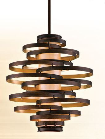 Vertigo 2 Light Unique Statement Geometric Chandelier In 2019