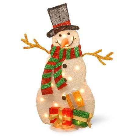 31\ - outdoor snowman christmas decorations
