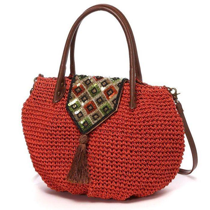 идеи вязаных сумок крючком новая порция вдохновения вязание