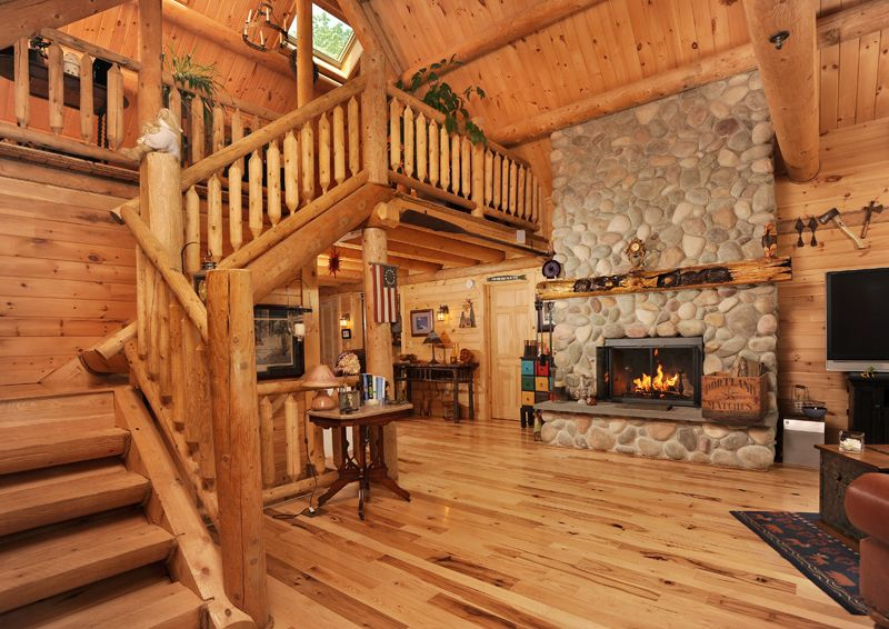 Katadhin Log | Photos Of Log Homes In North And South Carolina | Carolina  Log Center