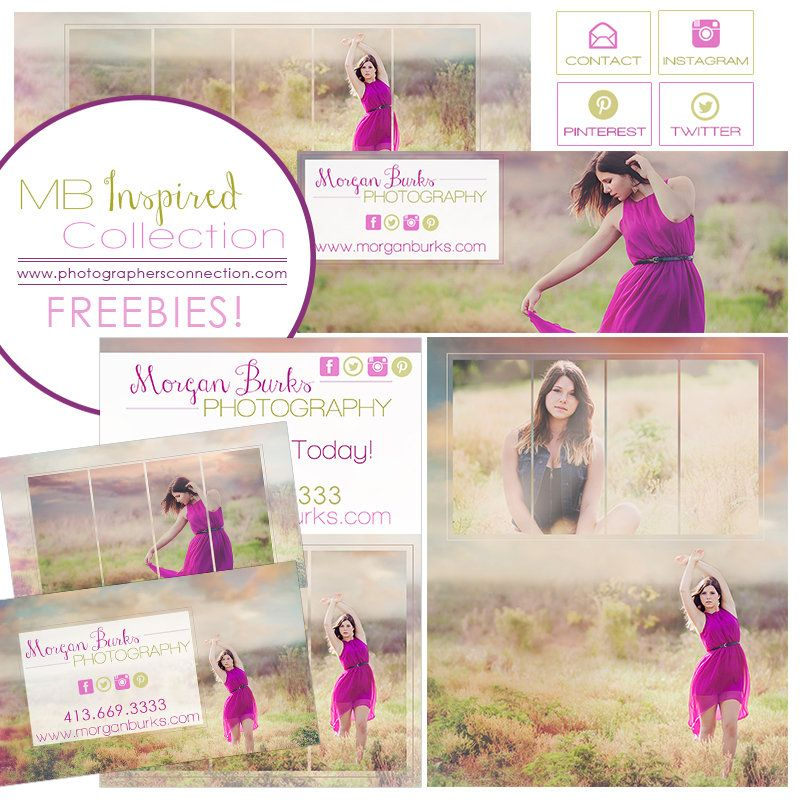 Gorgeous FREEBIES!!!!! Business Card, Timeline Covers and Tabs, 5x7 Marketing Board and a 16x20 Collage #photographers #photography #freebies