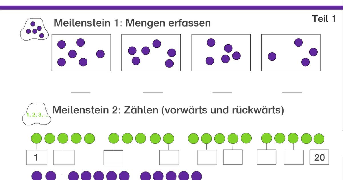 Arbeitsblätter Mathe Klasse 1.pdf | Schule | Pinterest